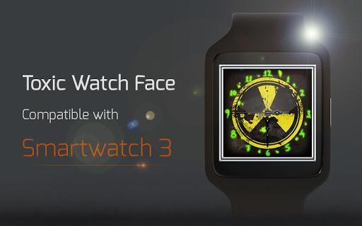 【免費個人化App】Toxic Watch Face-APP點子