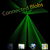 Connected Blobs Live Wallpaper