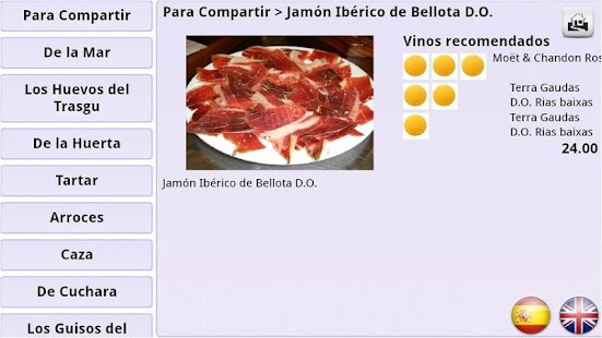 Menuele Menu Restaurante- screenshot thumbnail