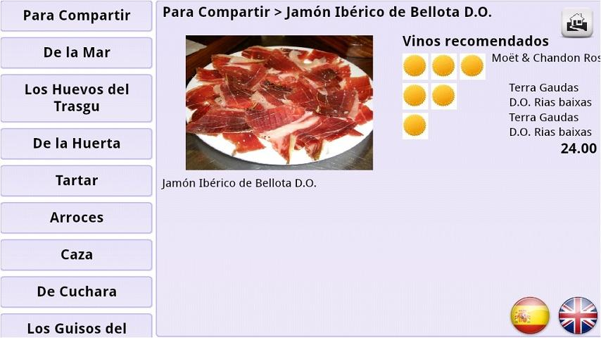 Menuele Menu Restaurante- screenshot