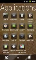Screenshot of Glossy Metro Theme -ssLauncher