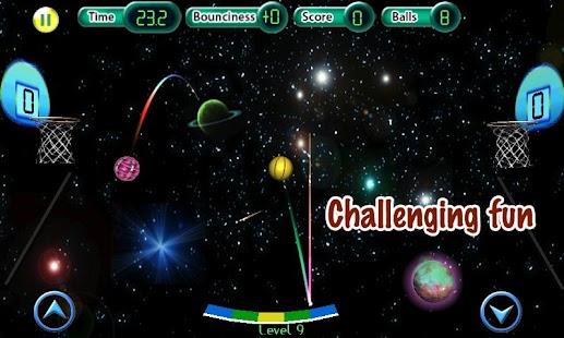 Cosmic Basketball FREE screenshot
