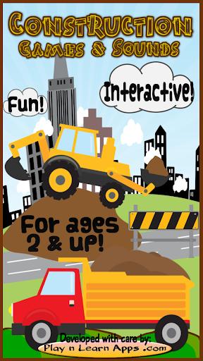 Construction Sounds Games