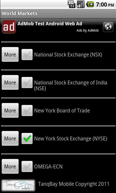 World Markets- screenshot