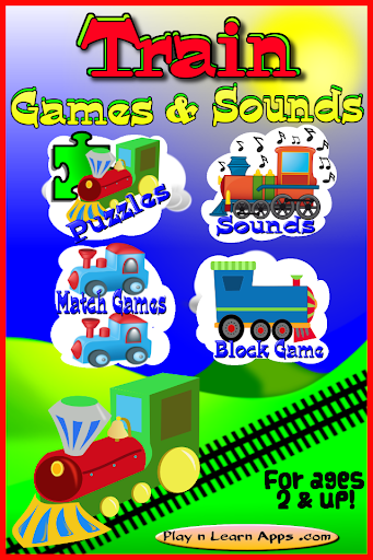 Train Games For Toddlers