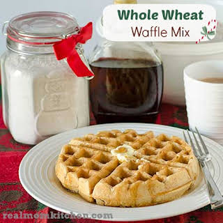 Whole Wheat Waffle Mix.