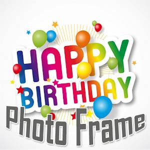 free happy birthday poto frame