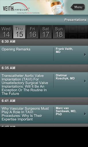 【免費醫療App】VEITH 2012-APP點子