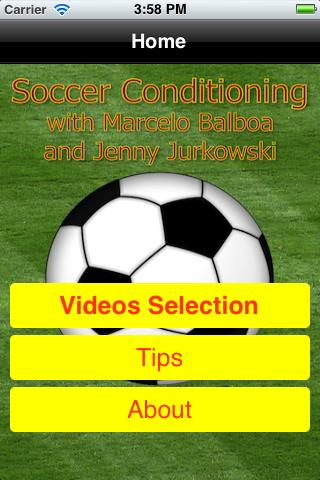 Soccer Skills Lite version- screenshot
