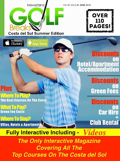 Newsstand Golf Breaks Magazine
