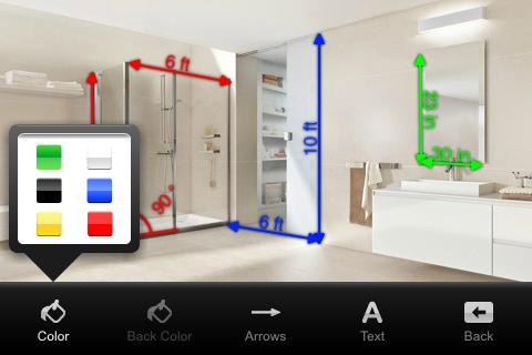 Measure Tools - LINEA - screenshot