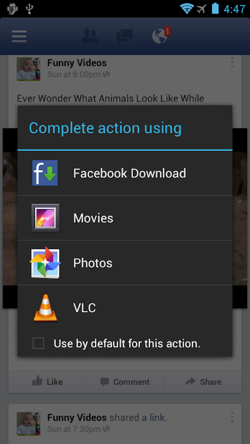 Facebook Video Download - screenshot