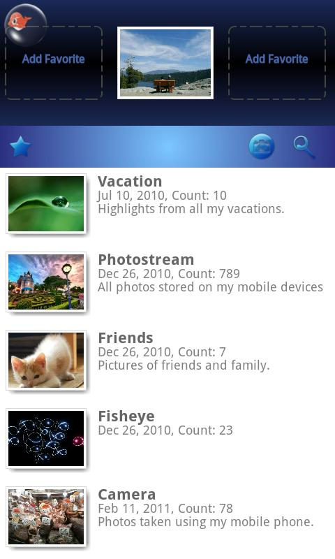 Photo Gallery (Fish Bowl) - screenshot
