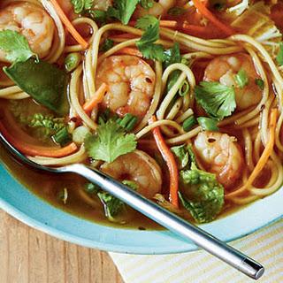 Spicy Shrimp Noodle Bowl.