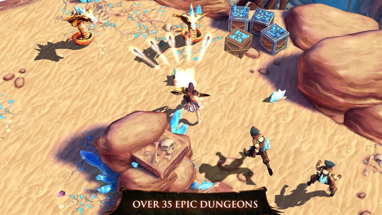 Dungeon Hunter 4 screenshot #1