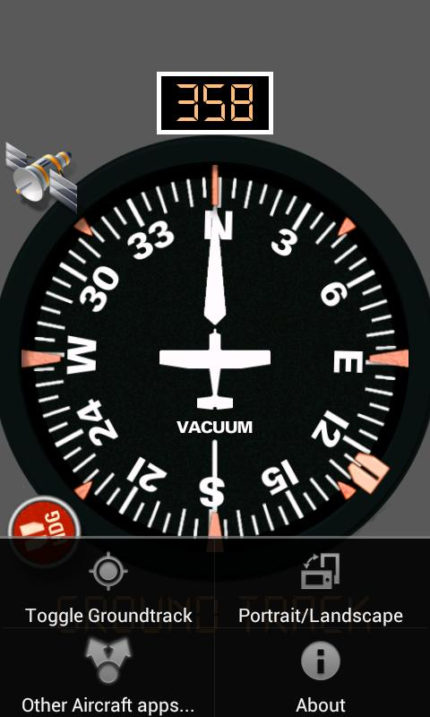 Aircraft Compass Free - screenshot
