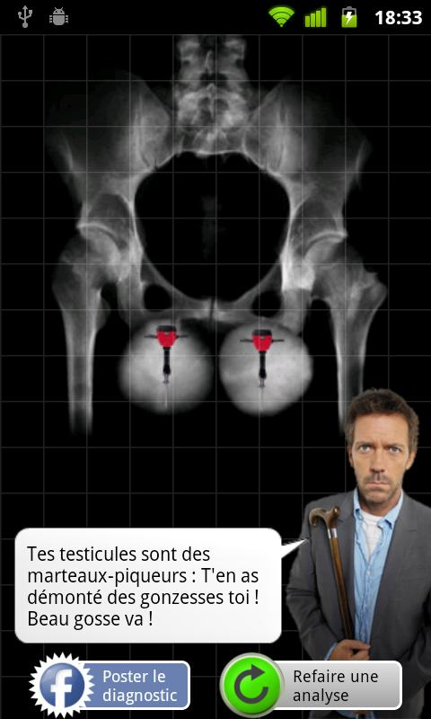 Scanner à Testicules - screenshot