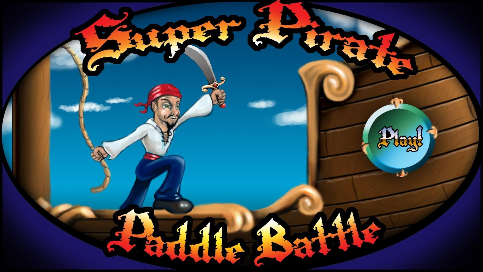 Super Pirate Paddle Battle - screenshot