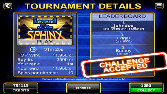 Slot Challenge- screenshot thumbnail