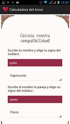Calculadora Del Amor - screenshot