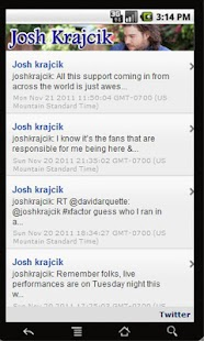 Josh Krajcik!- screenshot thumbnail
