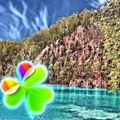 GO Launcher EX Theme Blue Lake