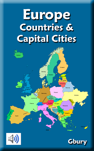 教育必備APP下載|Europe Countries and Capitals 好玩app不花錢|綠色工廠好玩App