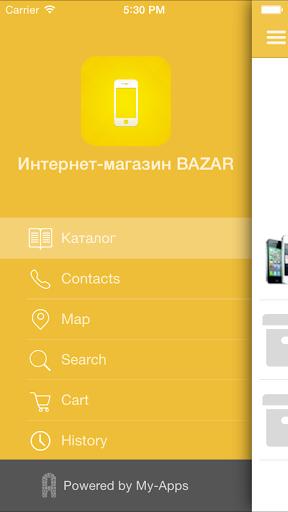 Интернет-магазин BAZAR