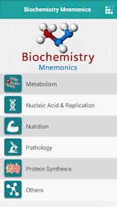 Biochemistry Mnemonics v1.0