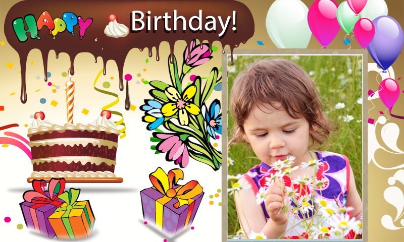 Happy Birthday Photo Frames Android Apps On Google Play