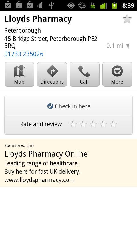 Lloydspharmacy Diabetes Check - screenshot