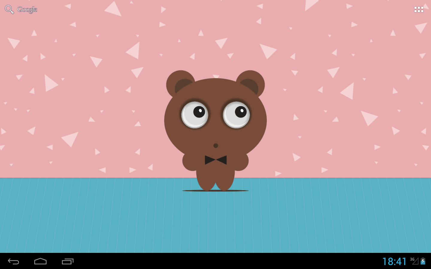Tony The Bear Live Wallpaper- screenshot