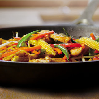 Chicken And Honey Ginger Stir-fry
