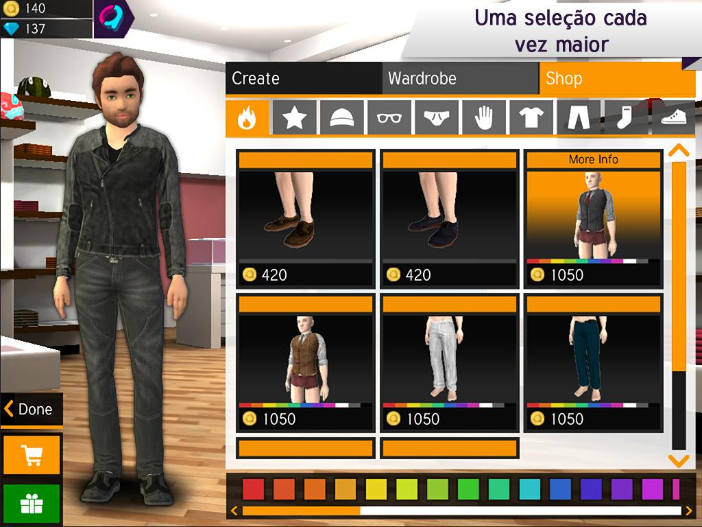 Avakin 3d avatar creator apps para android no google play Online 3d design maker