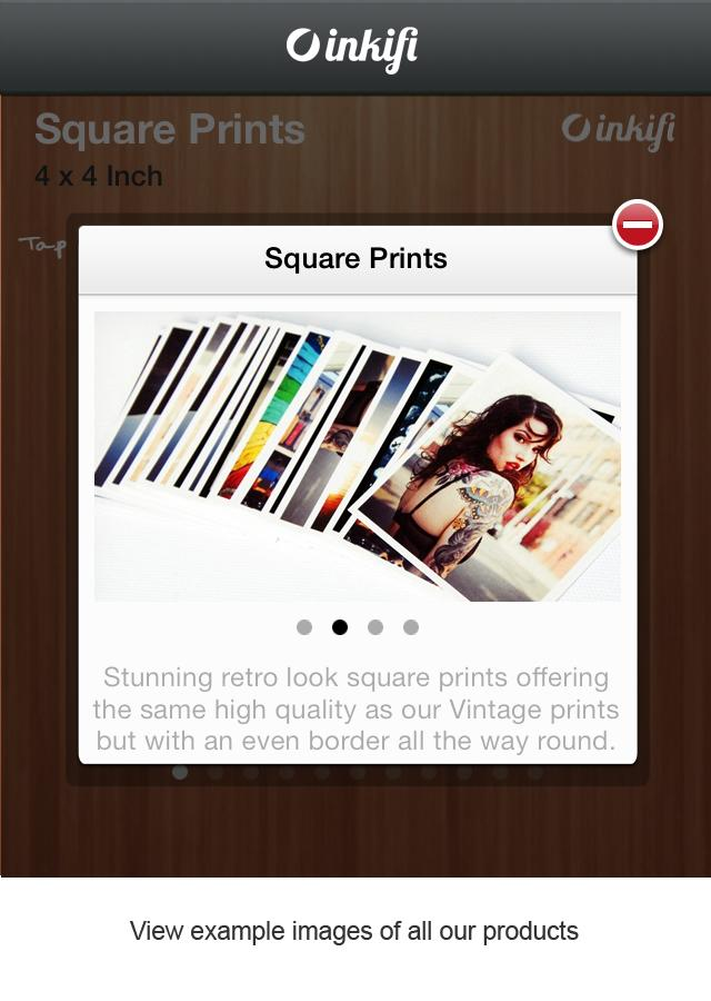 Inkifi -  Instagram Prints - screenshot