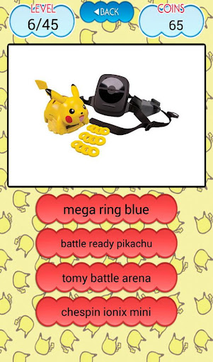 PokeMo Quiz Toys