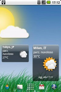 Meteo Widget screenshot 1