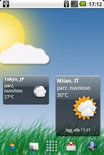 Meteo Widget - screenshot thumbnail