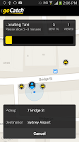 Screenshot of goCatch™ The Free Taxi Cab App