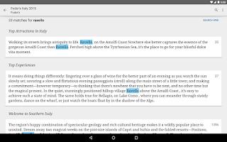 Screenshot of Google Play Books