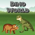 Dino World – Puzzle & Trivia logo