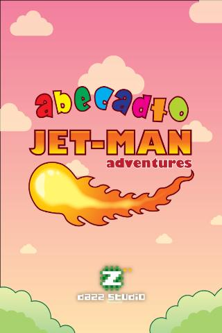 JET-MAN Abecadło DEMO- screenshot