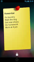 Screenshot of Notes Widget HD PRO - Stickies