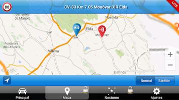 Screenshot of Avisador de Radares LITE