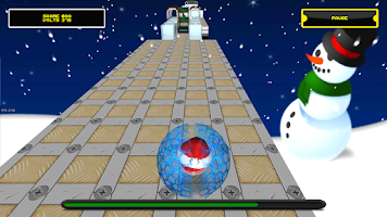Screenshot of Jumping Electron Christmas