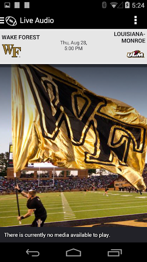 Wake Forest Gameday