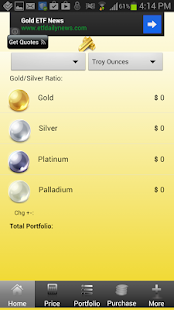 Live Gold Price App - screenshot thumbnail