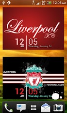 Liverpool WP with Clock Widget Android Personalization