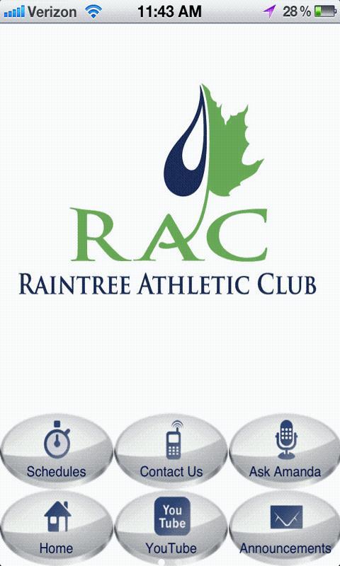 Raintree Athletic Club- screenshot