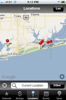 Screenshot of Gulf Coast Bridal